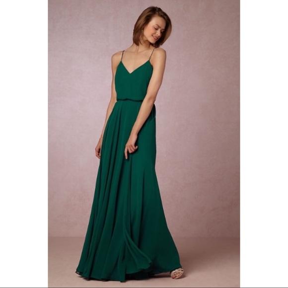 1db196e4db697 BHLDN Dresses | Jenny Yoo Emerald Inesse Gown 2 Nwot | Poshmark